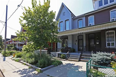 Townhouse for rent at 274 Markham St Unit Bsmnt Toronto Ontario - MLS: C4481517