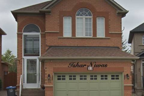 House for rent at 53 Blue Whale Blvd Unit Bsmnt Brampton Ontario - MLS: W4679927