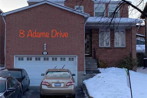 House for rent at 8 Adams Dr Unit Bsmnt Ajax Ontario - MLS: E4699301