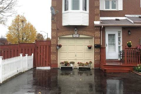 Townhouse for rent at 101 Robbinstone Dr Unit Bsmt Toronto Ontario - MLS: E4627088
