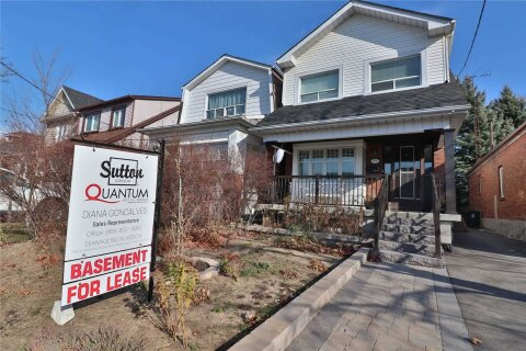 House for rent at 125 Priscilla Ave Unit Bsmt Toronto Ontario - MLS: W4998182