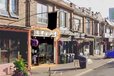Commercial property for lease at 1612 Queen St Apartment Bsmt Toronto Ontario - MLS: W4716837