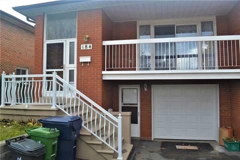 Townhouse for rent at 184 Shawnee Circ Unit Bsmt Toronto Ontario - MLS: C4625374