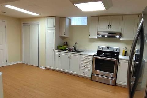 House for rent at 199 Manhattan Dr Unit Bsmt Markham Ontario - MLS: N4661535