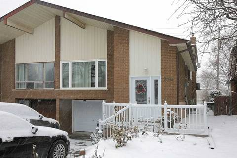 Townhouse for rent at 279 Apache Tr Unit Bsmt Toronto Ontario - MLS: C4680835