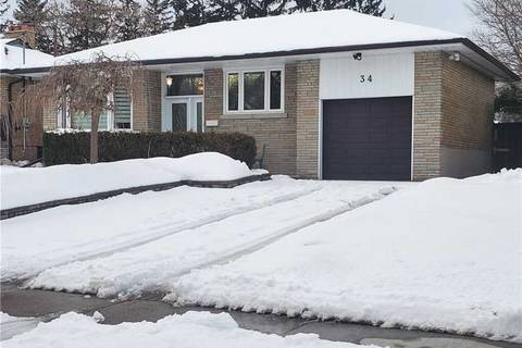 House for rent at 34 Rossander Ct Unit Bsmt Toronto Ontario - MLS: E4689190