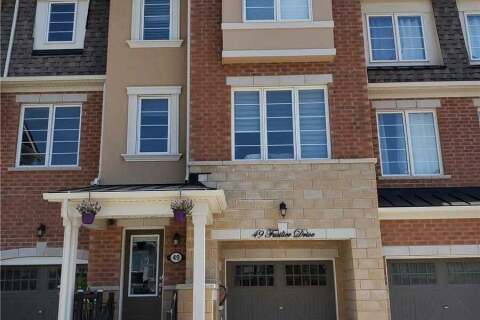 Townhouse for rent at 49 Fusilier Dr Unit Bsmt Toronto Ontario - MLS: E4825983