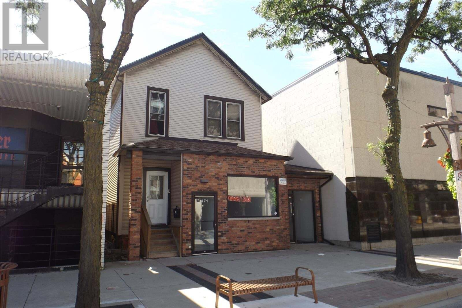 Commercial property for lease at 471 Pelissier  Apartment C Windsor Ontario - MLS: 20011231