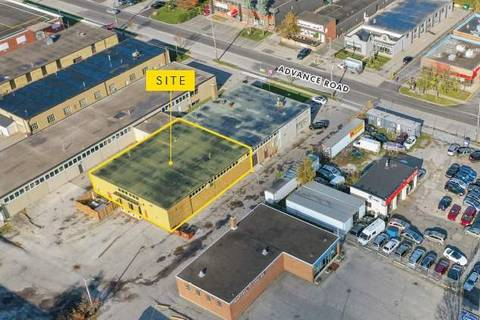 Commercial property for sale at 99 Advance Rd Unit C & D Toronto Ontario - MLS: W4682566