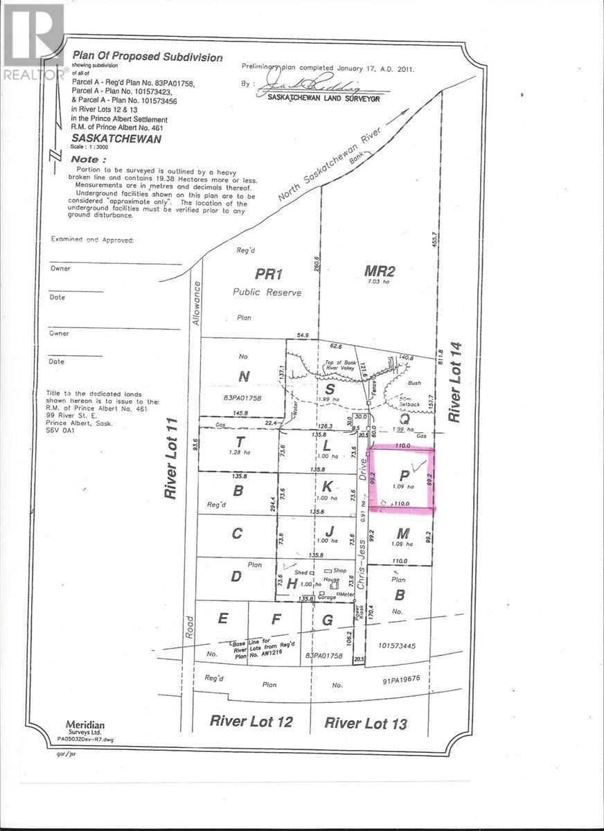 Residential property for sale at  Jess Dr Unit Chris Prince Albert Rm No. 461 Saskatchewan - MLS: SK764583
