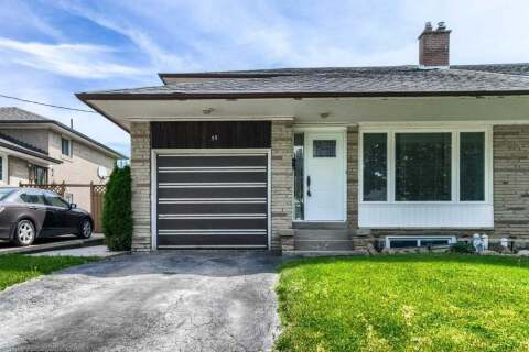 Townhouse for sale at 55 Clayhall Cres Unit Cres Toronto Ontario - MLS: W4772740