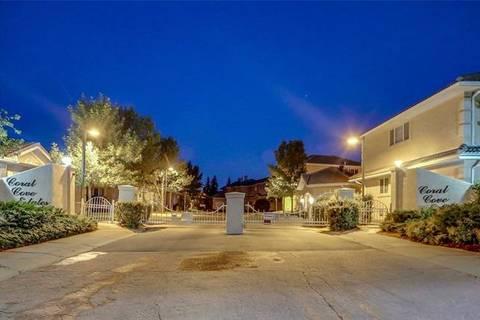 Townhouse for sale at 105 Coral Cove Northeast Unit Cv Calgary Alberta - MLS: C4229575
