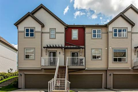 Townhouse for sale at 187 Copperstone Cove Southeast Unit Cv Calgary Alberta - MLS: C4258629