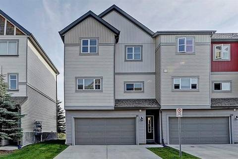 Townhouse for sale at 96 Copperstone Cove Southeast Unit Cv Calgary Alberta - MLS: C4270958