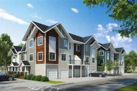 Townhouse for sale at 475 Canals Crossing Southwest Unit Cx Airdrie Alberta - MLS: C4280557