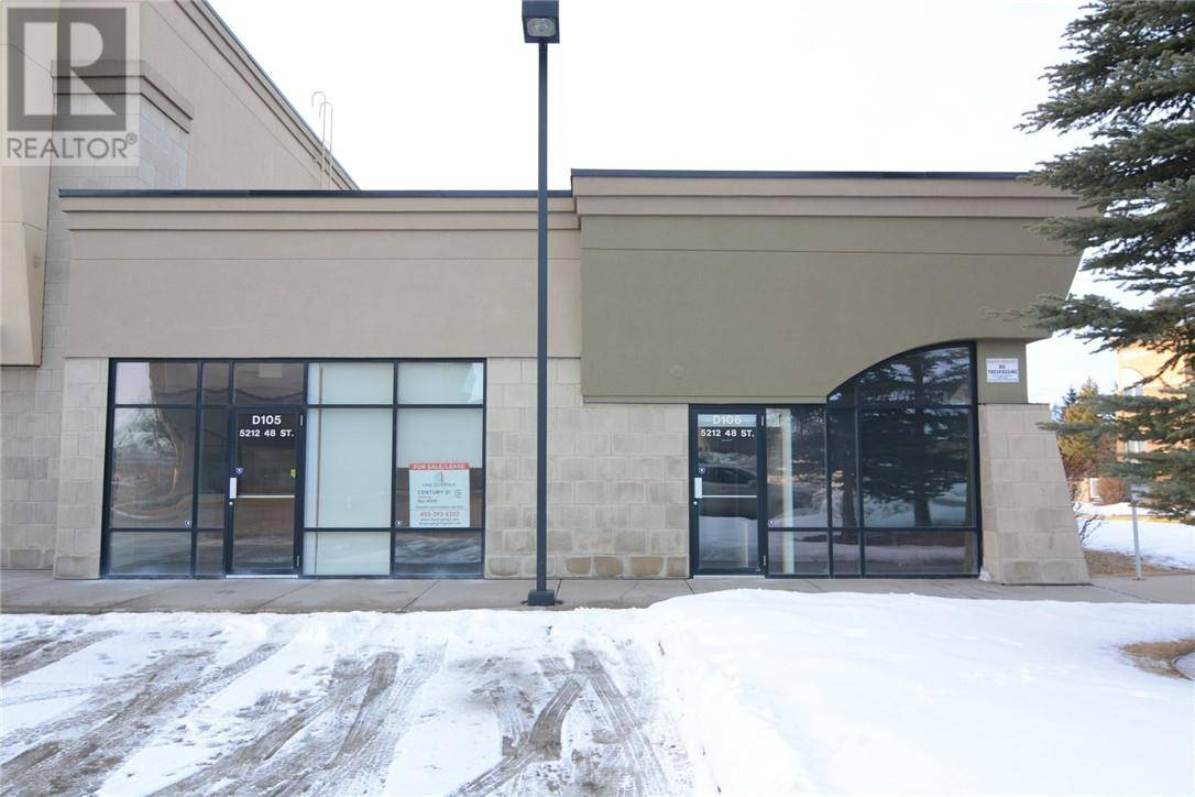 Commercial property for lease at 5212 48 St Apartment D105 Red Deer Alberta - MLS: ca0185593