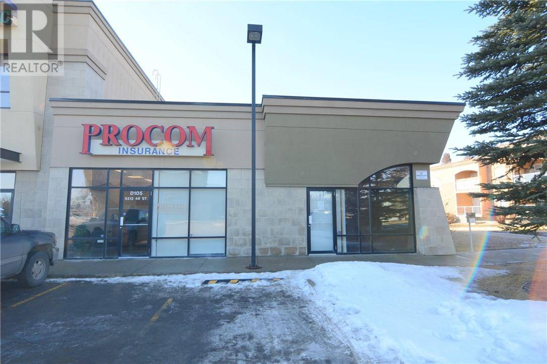 Commercial property for lease at 5212 48 St Apartment D105&D106 Red Deer Alberta - MLS: ca0161089