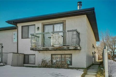 Townhouse for sale at 1403 44 St Southeast Unit E Calgary Alberta - MLS: C4246096