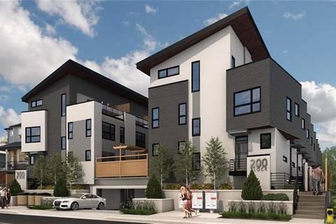 Townhouse for sale at 2217 17b St Southwest Unit E Calgary Alberta - MLS: C4293106