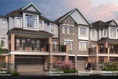 Townhouse for sale at 37 Bank Swallow Cres Unit E037 Kitchener Ontario - MLS: 30729854