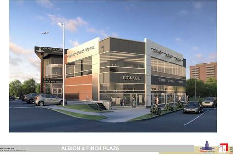 Commercial property for lease at 6100 Finch Ave Apartment E206 Toronto Ontario - MLS: W4613115