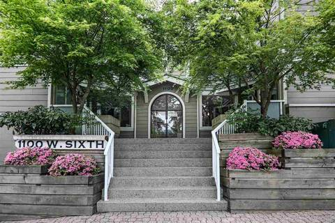 Townhouse for sale at 1100 6th Ave W Unit E3 Vancouver British Columbia - MLS: R2370431