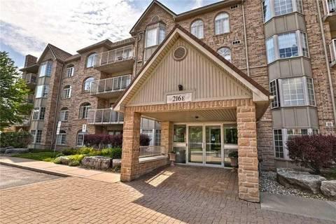 Residential property for sale at 216 Plains Rd Unit E308 Burlington Ontario - MLS: W4422680