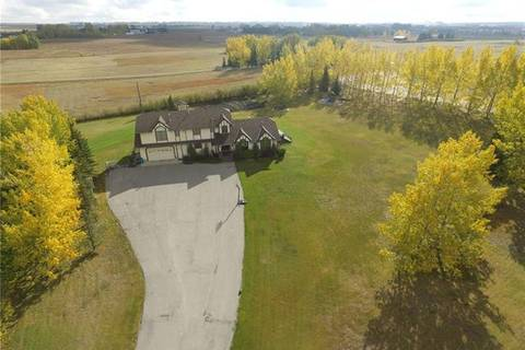 House for sale at 292139 Butte Valley Estates Unit Es Rural Rocky View County Alberta - MLS: C4235402