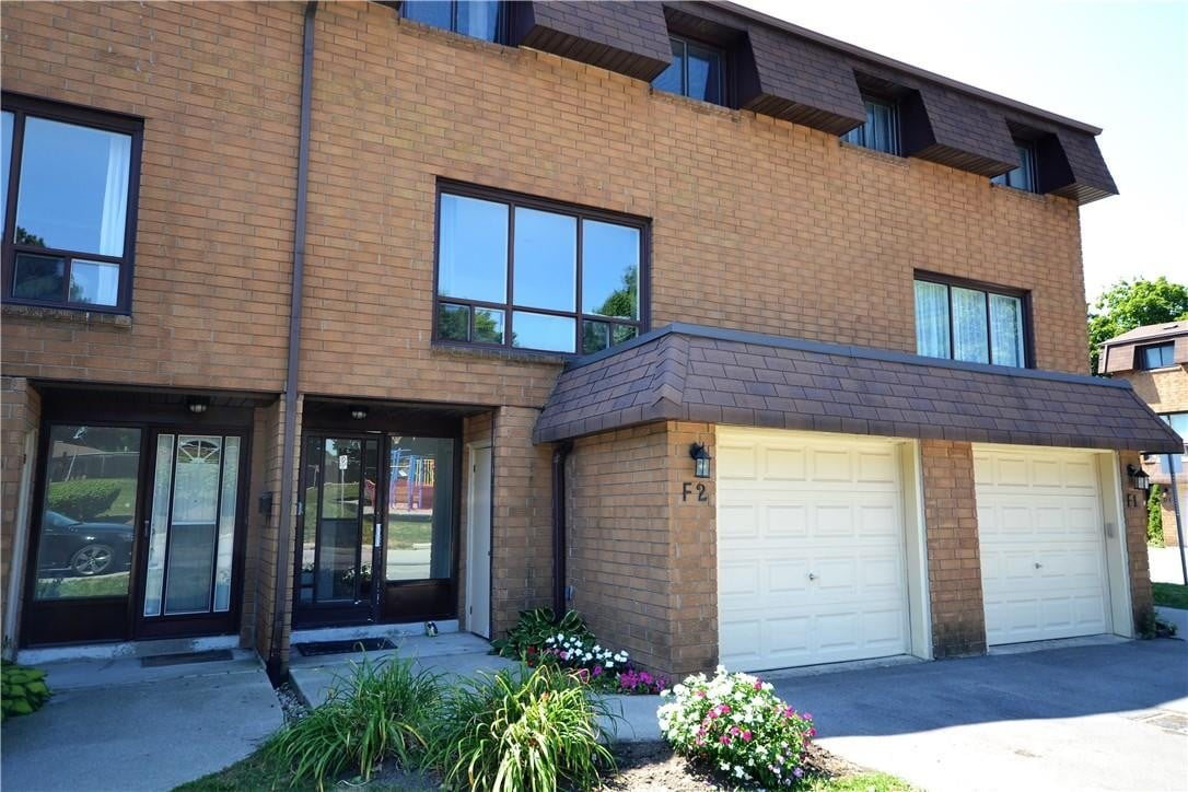 Townhouse for sale at 500 Stone Church Rd W Unit F2 Hamilton Ontario - MLS: H4085401