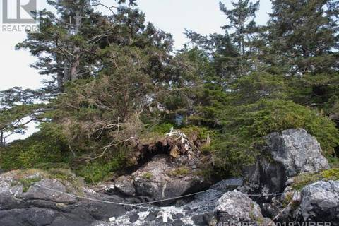 Residential property for sale at  Frank Is Tofino British Columbia - MLS: 456495