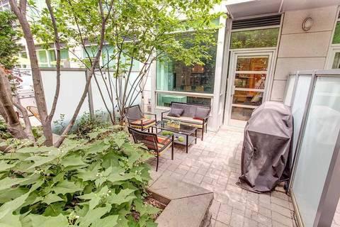 Apartment for rent at 350 Wellington St Unit G06 Toronto Ontario - MLS: C4488691