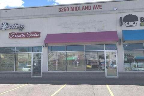 Commercial property for sale at 3250 Midland Ave Unit G116 Toronto Ontario - MLS: E4775466