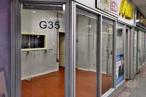 Commercial property for lease at 4168 Finch Ave Apartment G35 Toronto Ontario - MLS: E4441808