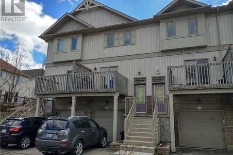 Townhouse for sale at 619 Wild Ginger Ave Unit G42 Waterloo Ontario - MLS: 30724183