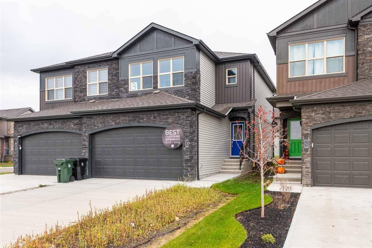 Townhouse for sale at  Gladstone Bn  Spruce Grove Alberta - MLS: E4178360