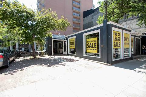Commercial property for lease at 225 King St Apartment Grd Flr Toronto Ontario - MLS: C4678033