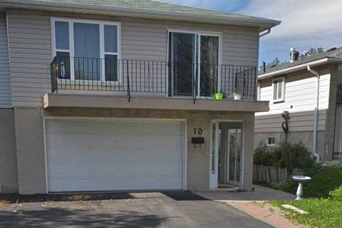 Townhouse for rent at 10 Parkdene Ct Unit Ground Toronto Ontario - MLS: E4675861