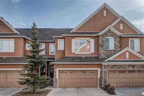 Townhouse for sale at 8 Cranleigh Heath Southeast Unit He Calgary Alberta - MLS: C4238488