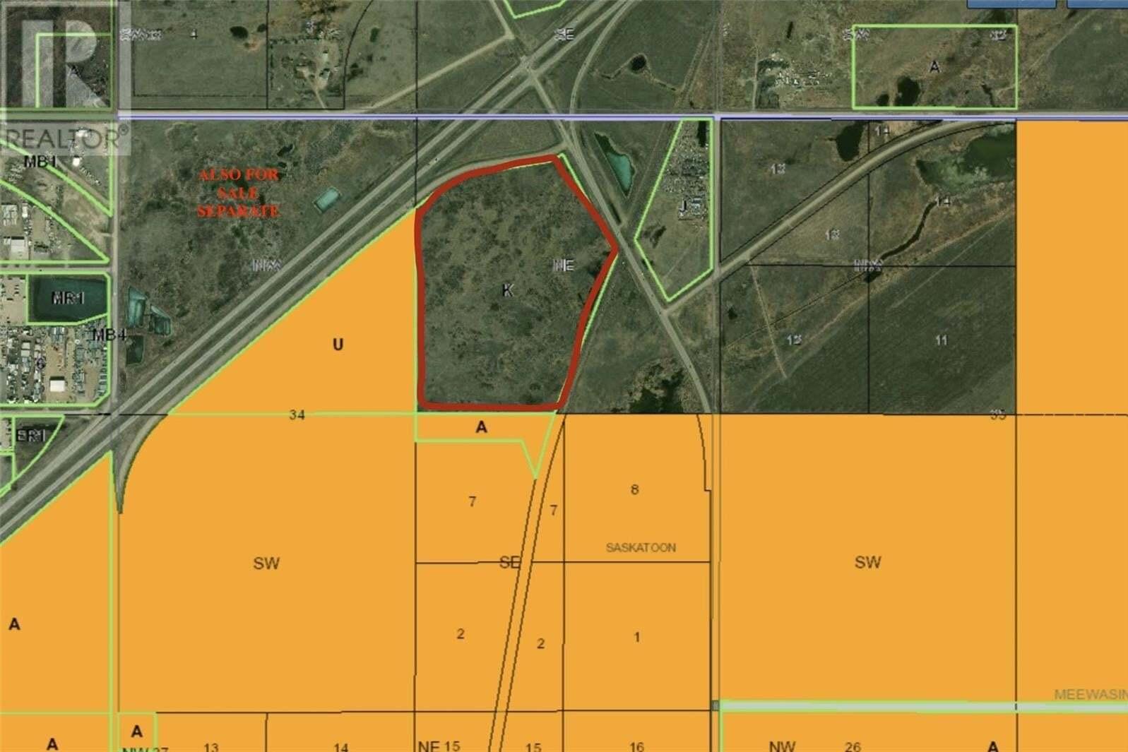 Residential property for sale at 11 Land 74.78 Acres Unit HIGHWAY Corman Park Rm No. 344 Saskatchewan - MLS: SK831026