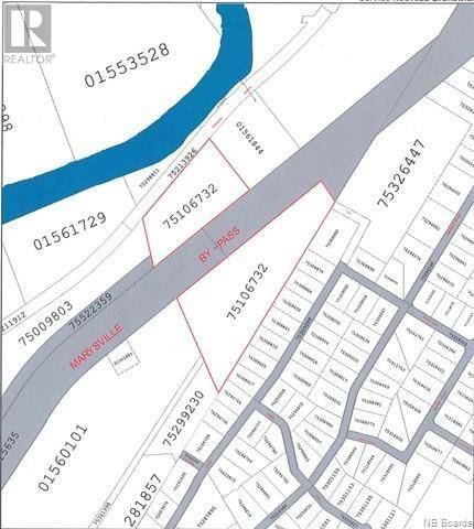 Residential property for sale at  Land Old Rd Fredericton New Brunswick - MLS: NB035055