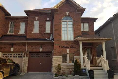 Townhouse for rent at 6 Baddow (upper) Rd Unit (Level) Brampton Ontario - MLS: W4778054