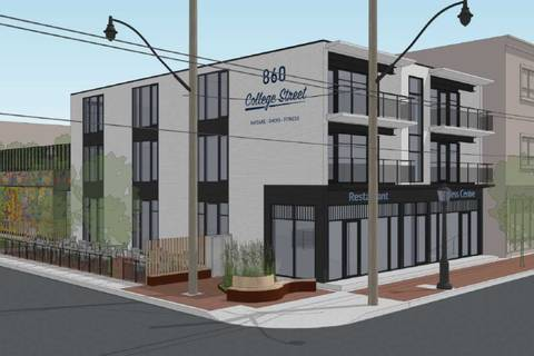 Commercial property for lease at 860 College St Apartment Ll Toronto Ontario - MLS: C4631193