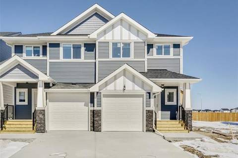 Townhouse for sale at 155 Reunion Lp Unit Lo Airdrie Alberta - MLS: C4223646