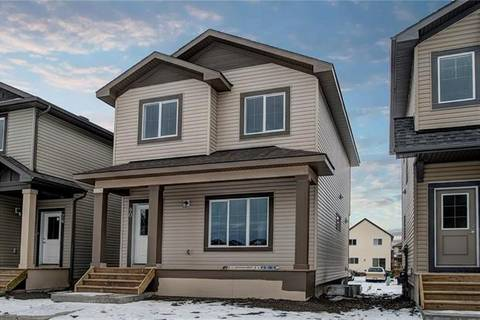 House for sale at 40 Reunion Lp Unit Lo Airdrie Alberta - MLS: C4286521