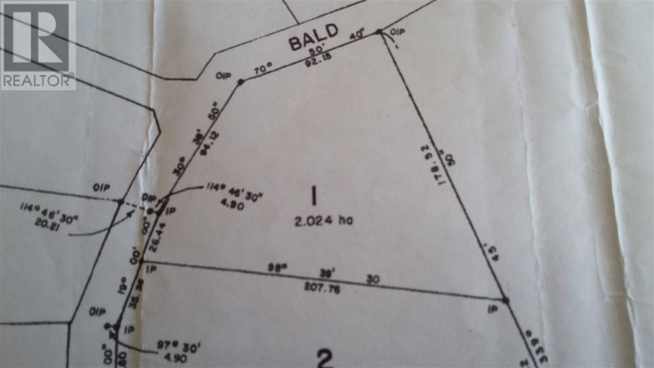 Home for sale at  Bald Hill Rd Unit Lot 1 Burns Lake British Columbia - MLS: R2446793