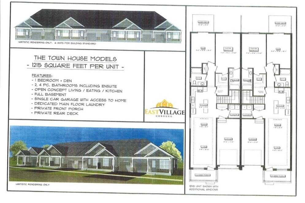 Townhouse for sale at 1 Blk 40 Hayward St Unit LOT Cobourg Ontario - MLS: 254705