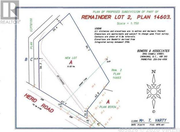Home for sale at  Herd Rd Unit Lot 1 Duncan British Columbia - MLS: 465826