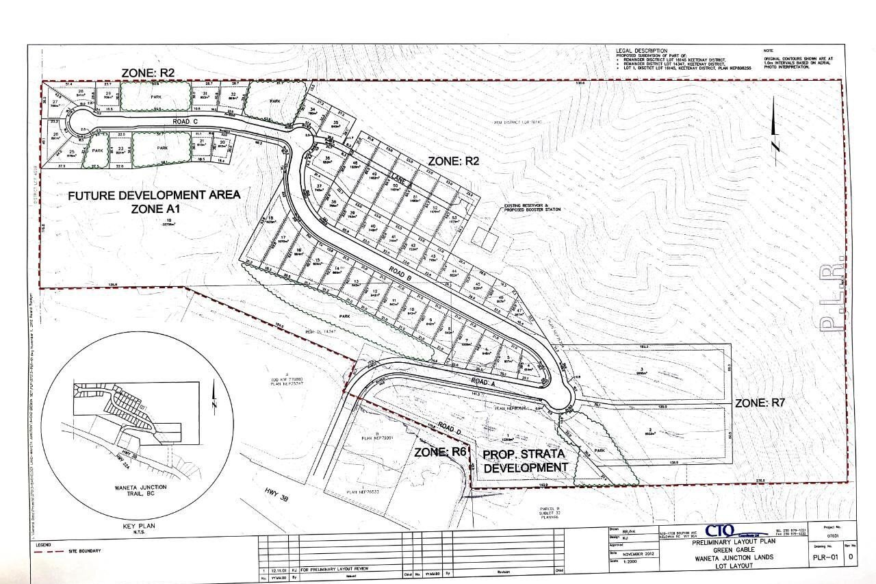 Residential property for sale at Lot 1 Highway 3b  Trail British Columbia - MLS: 2452041
