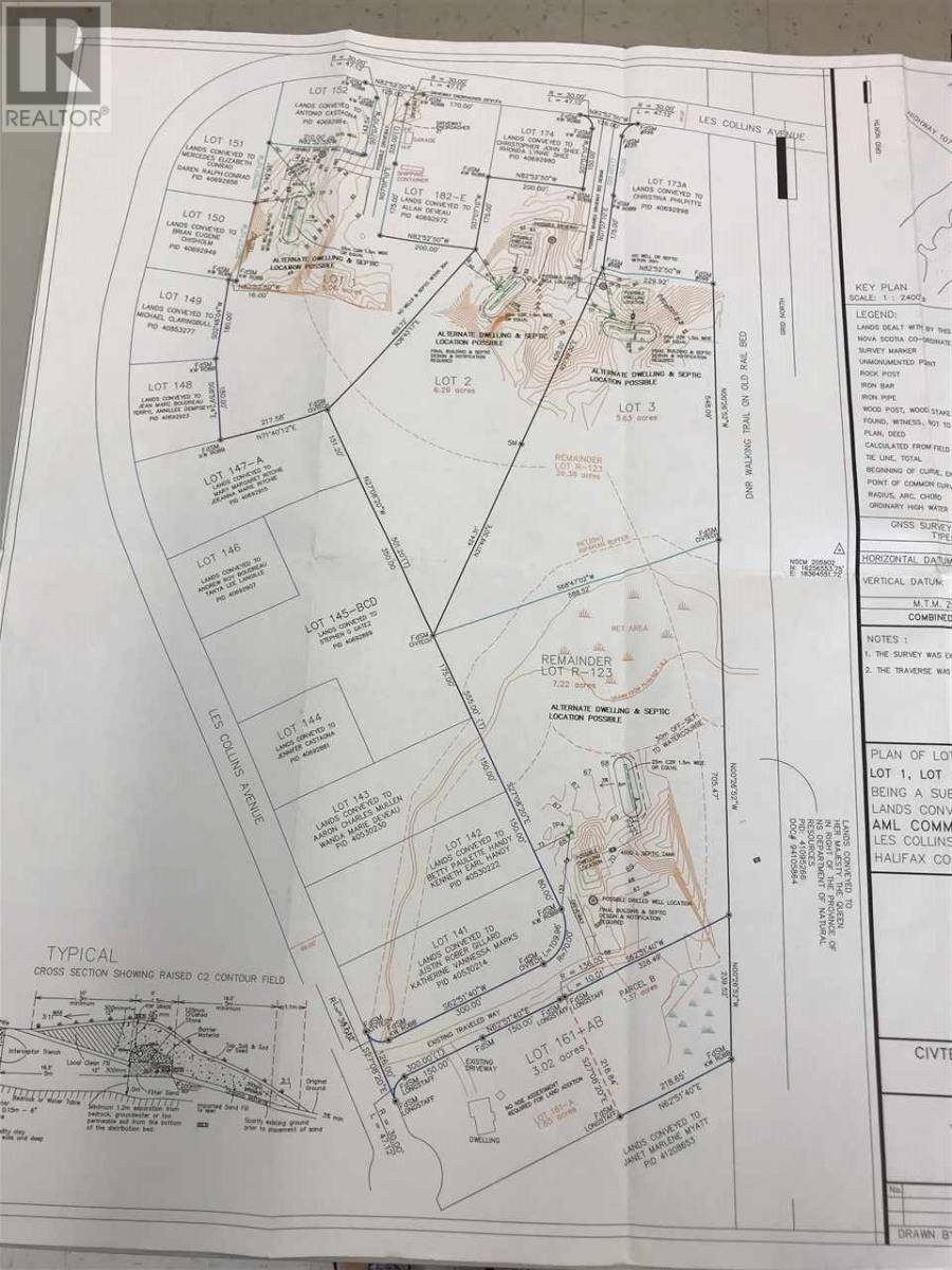 Residential property for sale at  Les Collins Ave Unit Lot 1 West Chezzetcook Nova Scotia - MLS: 201916084