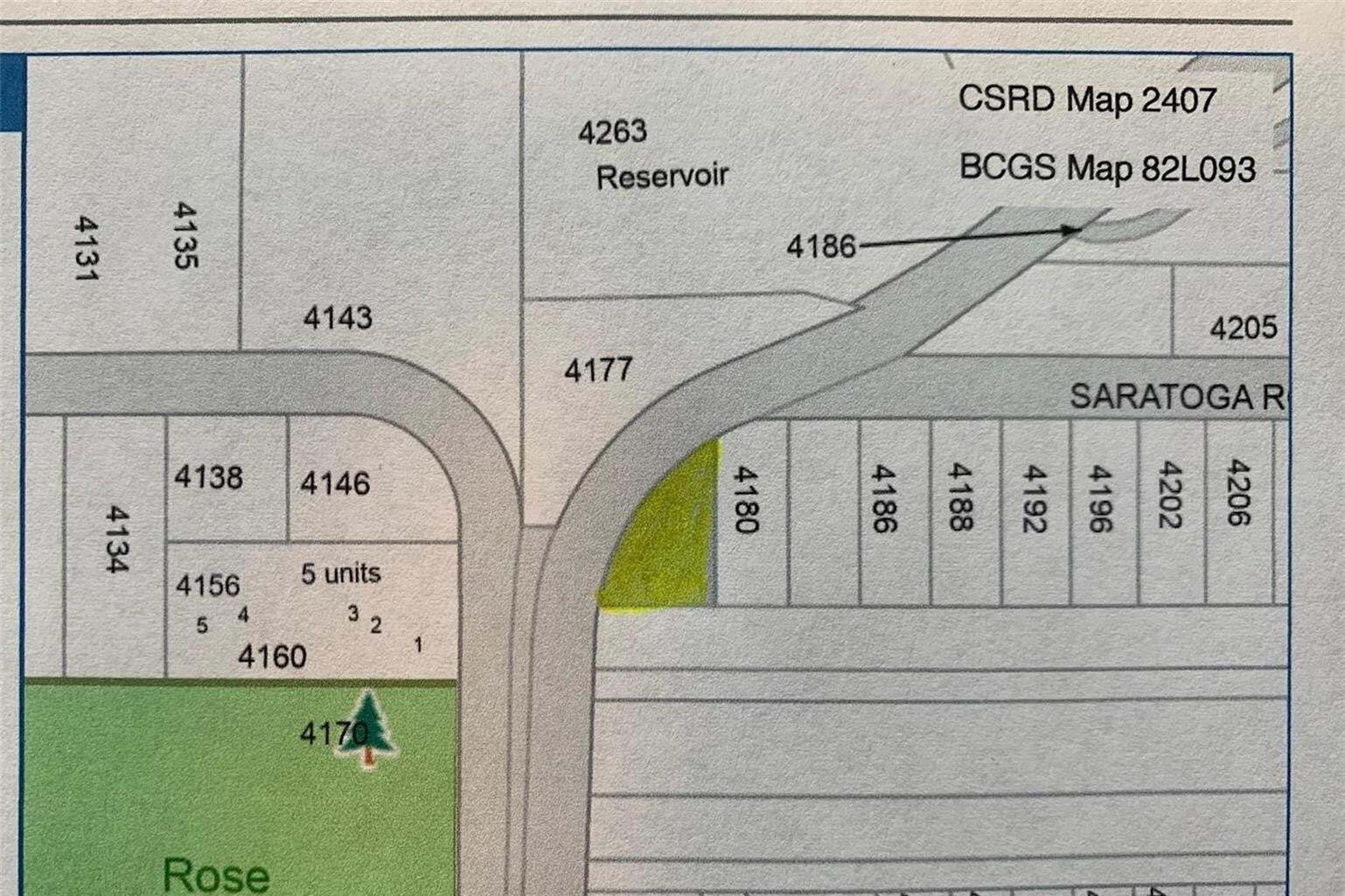 Residential property for sale at Lot 1 Saratoga Rd Scotch Creek British Columbia - MLS: 10211145